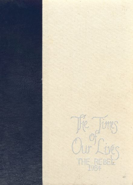 1984 Franklin Road Academy Yearbook Cover