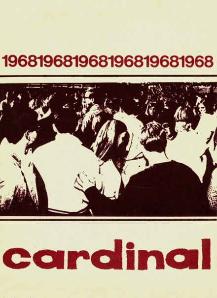 1968 Covina High School Yearbook Cover