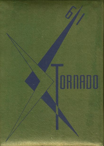 1961 Union City High School Yearbook Cover