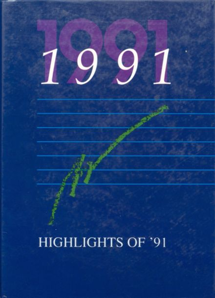 1991 Central Catholic High School Yearbook Cover
