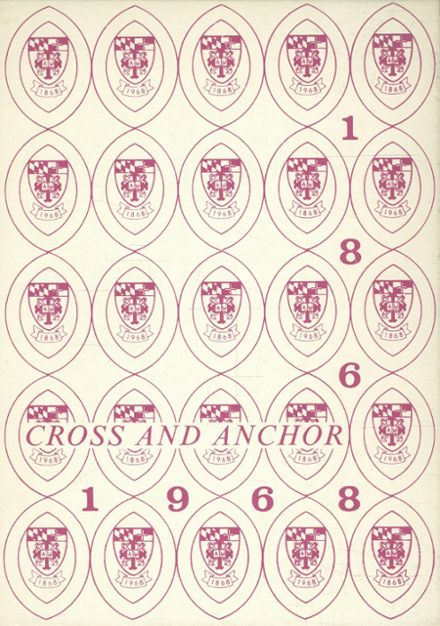 1968 Academy of The Holy Cross Yearbook Cover