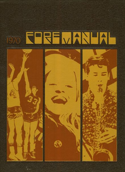 1970 Foreman High School Yearbook Cover