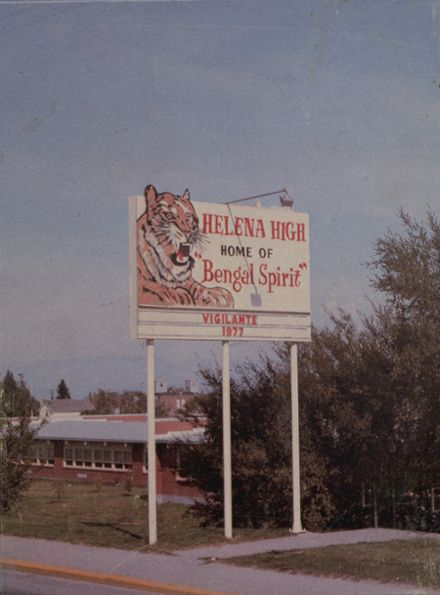 1977 Helena High School Yearbook Cover
