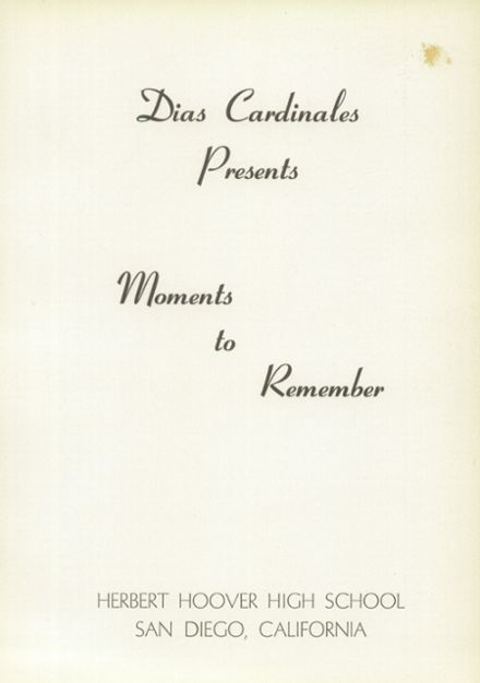 1956 Hoover High School Yearbook Page 5