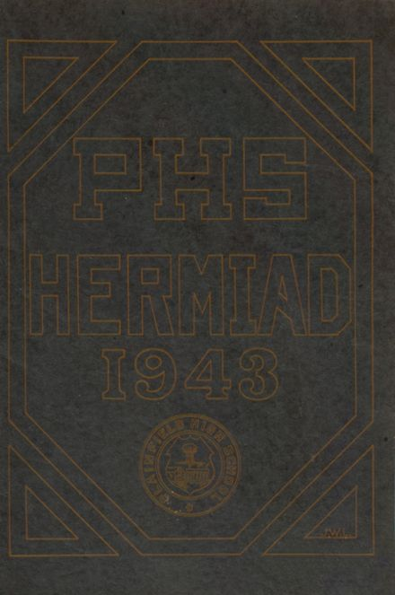 1943 Plainfield High School Yearbook Cover