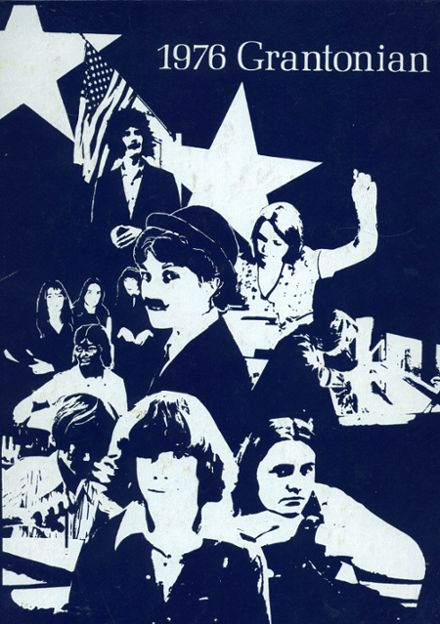 1976 Grant County High School Yearbook Cover