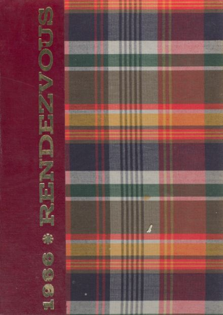 1966 Academy of the Sacred Heart Yearbook Cover