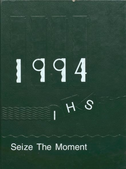 1994 Incline High School Yearbook Cover