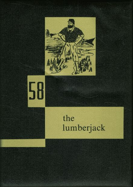 1958 Springhill High School Yearbook Cover