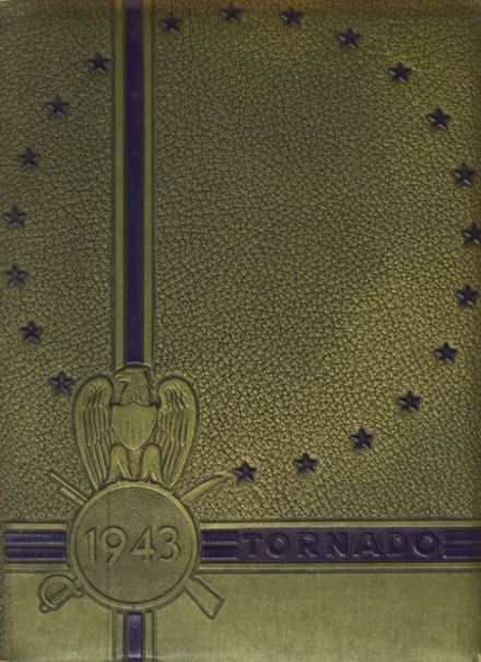 1943 Union City High School Yearbook Cover