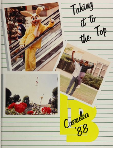 1988 Long Beach Polytechnic High School Yearbook Cover