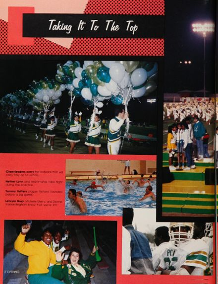 1988 Long Beach Polytechnic High School Yearbook Page 6