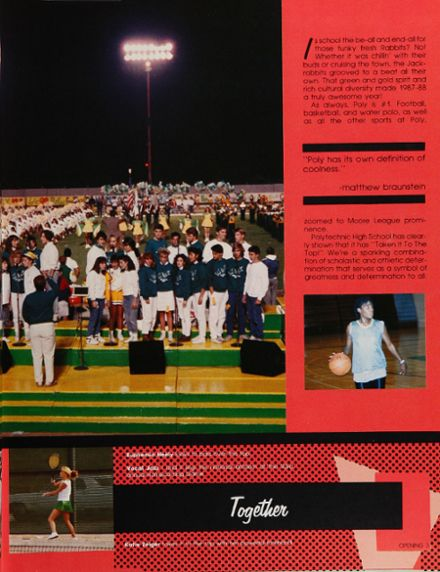 1988 Long Beach Polytechnic High School Yearbook Page 7