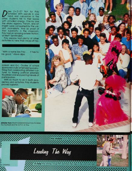 1988 Long Beach Polytechnic High School Yearbook Page 8