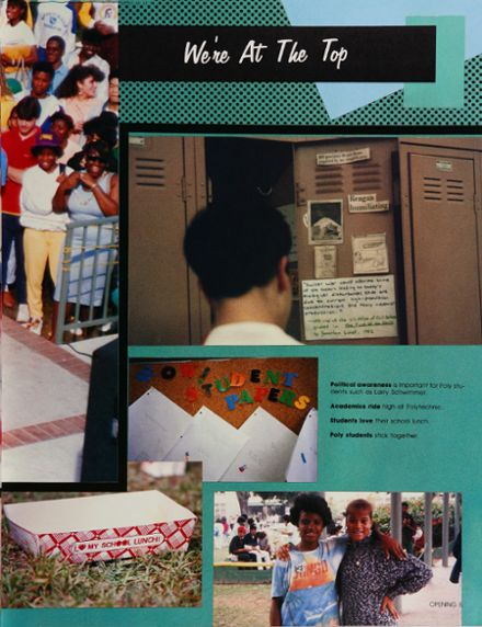 1988 Long Beach Polytechnic High School Yearbook Page 9