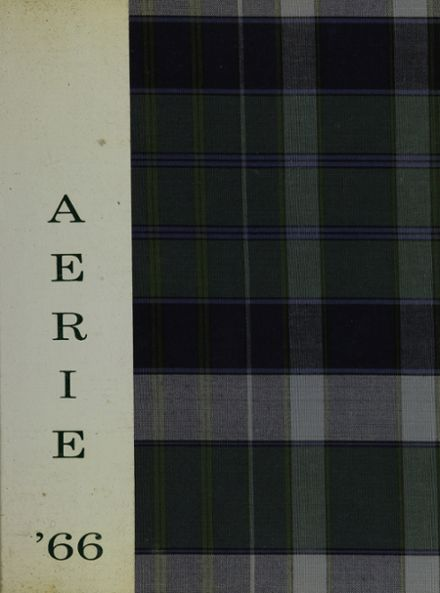 1966 North Harford High School Yearbook Cover