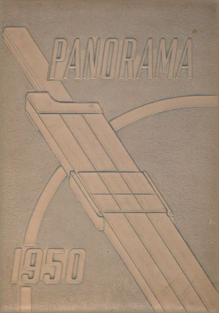 1950 Pana High School Yearbook Cover