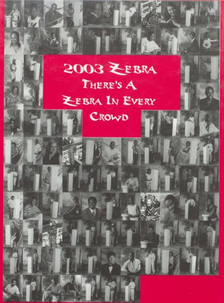 2003 Pine Bluff High School Yearbook Cover