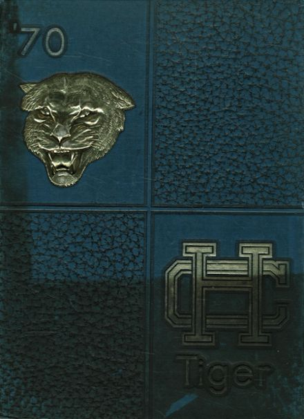 1970 Holy Cross High School Yearbook Cover