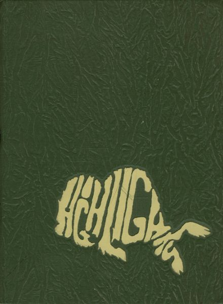 1969 Fenton High School Yearbook Cover