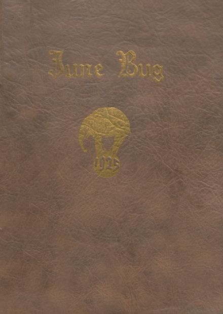 1925 Catonsville High School Yearbook Cover
