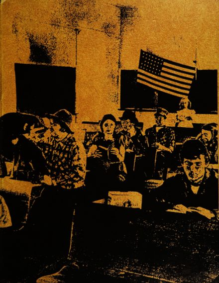 1974 Sonora Union High School Yearbook Cover