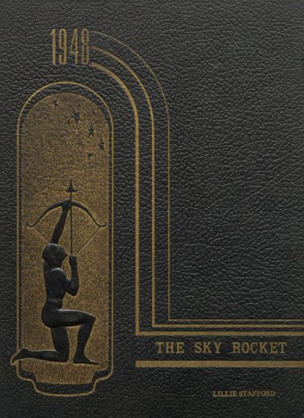 1948 Belleville High School Yearbook Cover