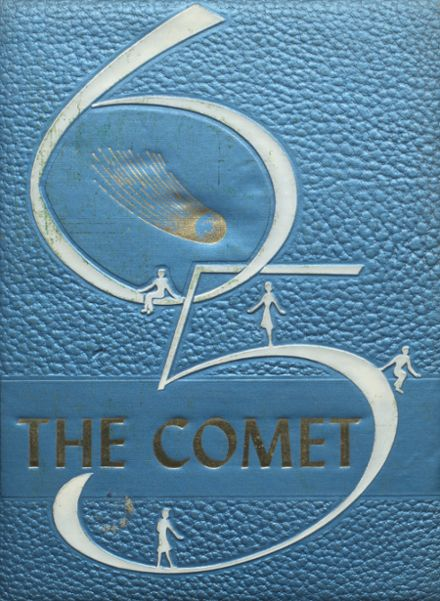 1965 Carlisle County High School Yearbook Cover