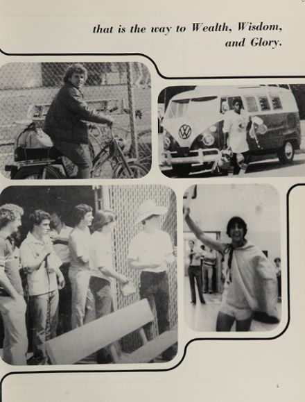 1981 St. Augustine High School Yearbook Page 9
