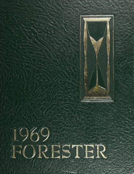 1969 Forest Park High School 406 Yearbook Cover