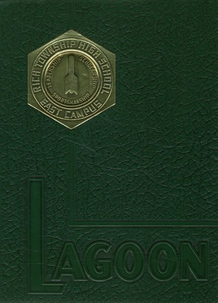 1964 Rich East Campus High School Yearbook Cover