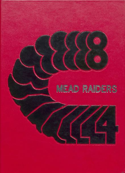 1984 Mead High School Yearbook Cover