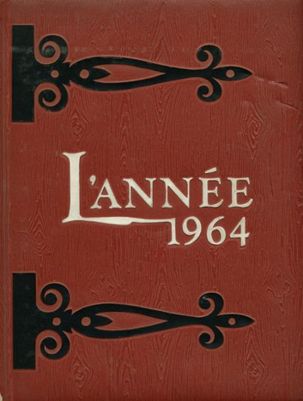 1964 Beaver Local High School Yearbook Cover