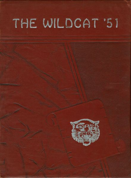 1951 Whitehouse High School Yearbook Cover
