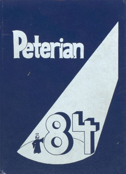 1984 St. Peter High School Yearbook Cover
