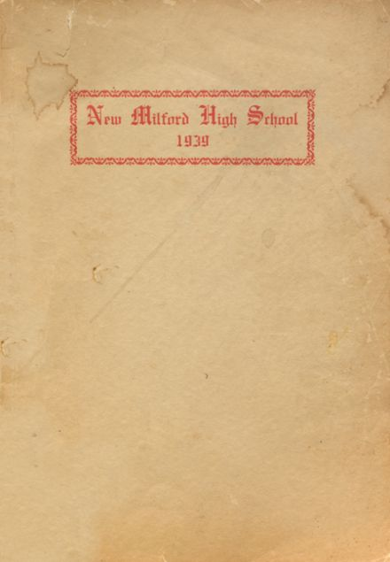 1939 New Milford High School Yearbook Cover
