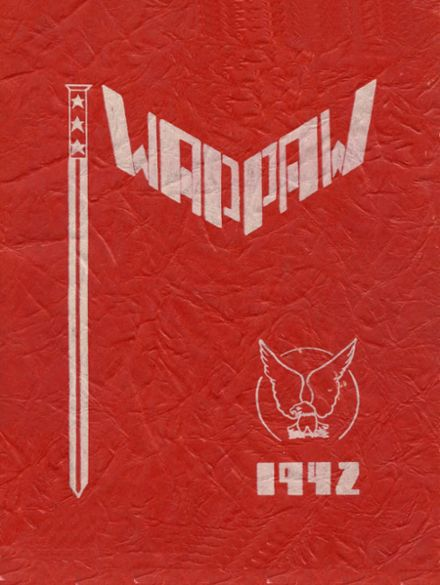 1942 Paw Paw High School Yearbook Cover