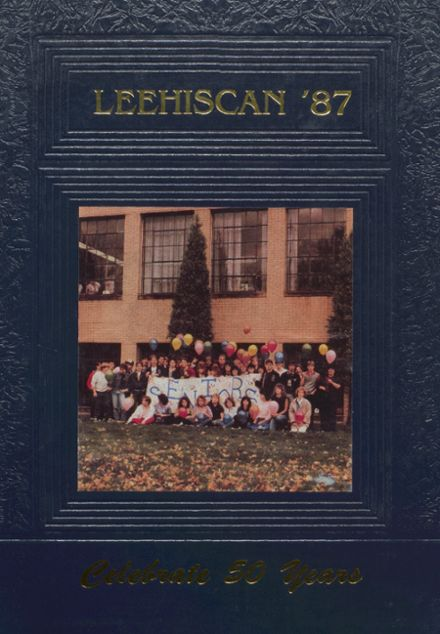 1987 Leetonia High School Yearbook Cover