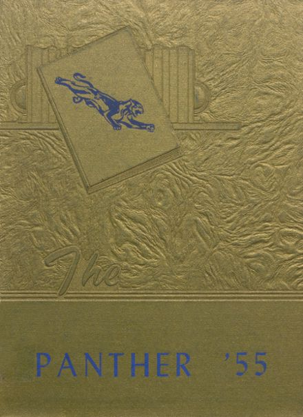 1955 Jal High School Yearbook Cover