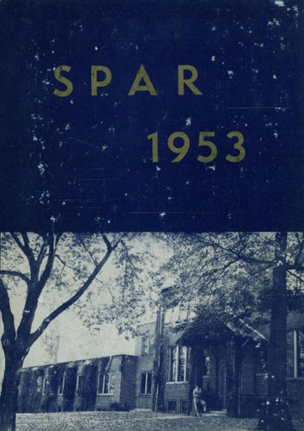 1953 St. Paul Academy - Summit Yearbook Cover