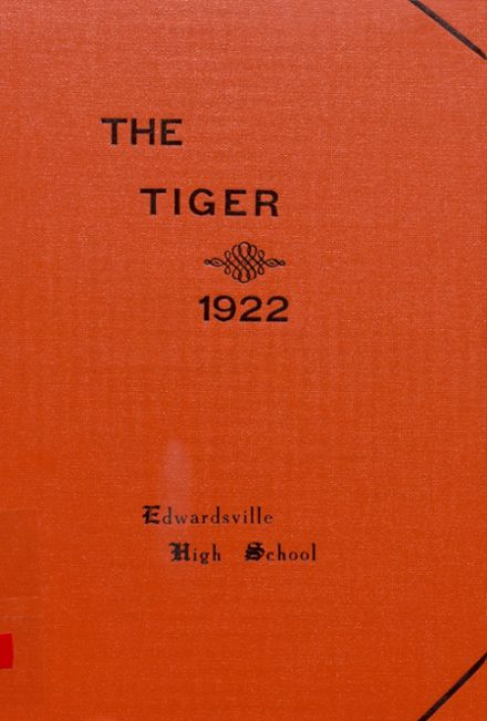 1922 Edwardsville High School Yearbook Page 1