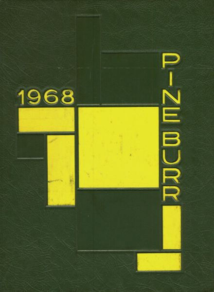 1968 Lincolnton High School Yearbook Cover
