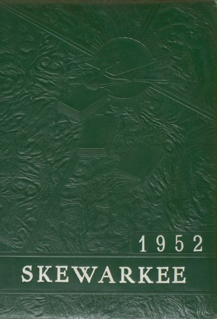 1952 Williamston High School Yearbook Cover