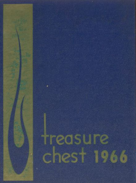 1966 Mergenthaler Vocational Technical High School 410 Yearbook Cover