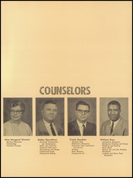 1966 Mergenthaler Vocational Technical High School 410 Yearbook Page 9