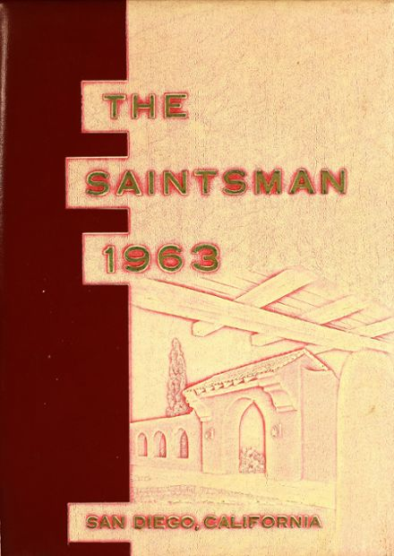1963 St. Augustine High School Yearbook Cover