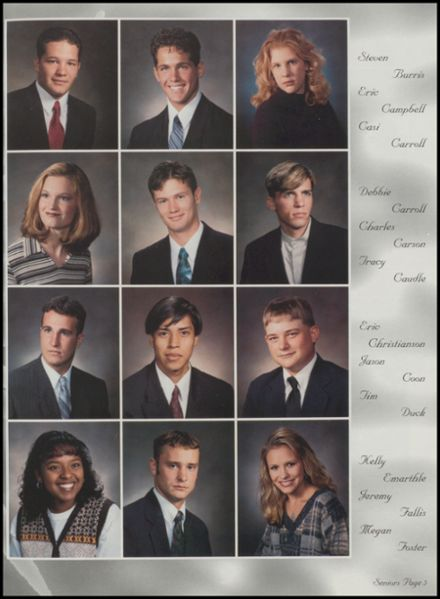 1998 Konawa High School Yearbook Page 9