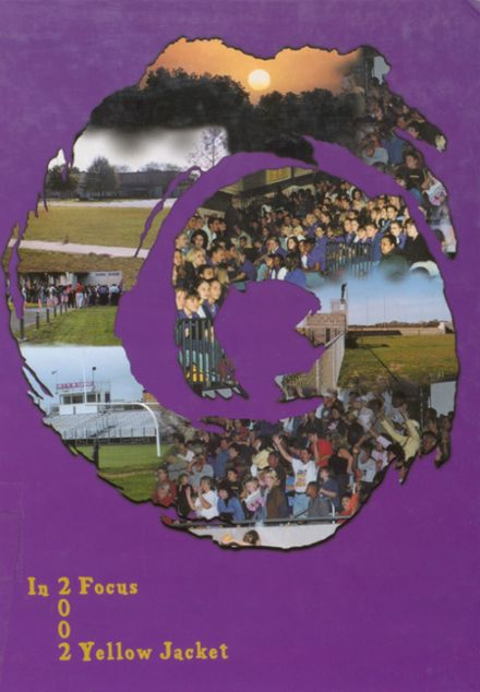 2002 Iowa High School Yearbook Cover