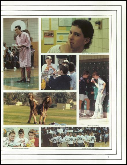 1989 West High School Yearbook Page 7