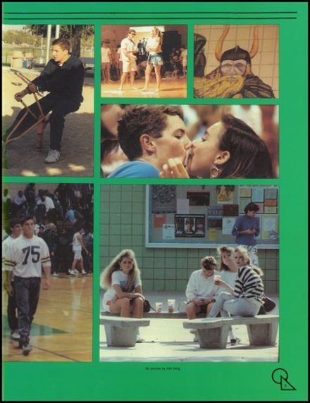 1989 West High School Yearbook Page 9